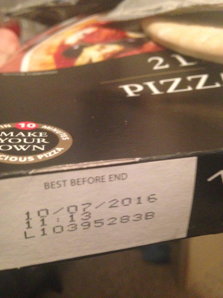 Luke Mitchell On Twitter At Tesco Opened My Pizza