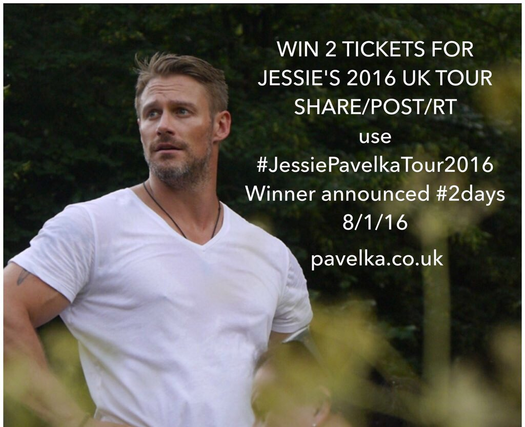Two days to go!! Retweet with #JessiePavelkaTour2016. Good luck!