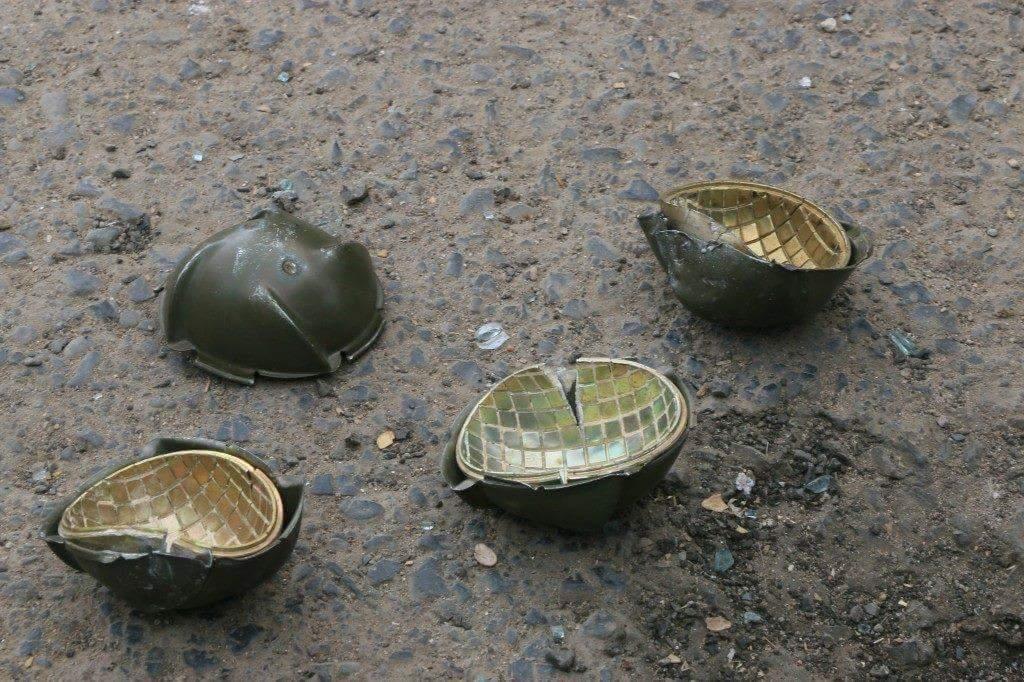 US Cluster Bombs dropped on Sana&#39;a by Saudi-US coalition on 06-01-2016 #Yemen #StopIllegalBlockade #Peace4Yemen <br>http://pic.twitter.com/3ZIjsOJBDl