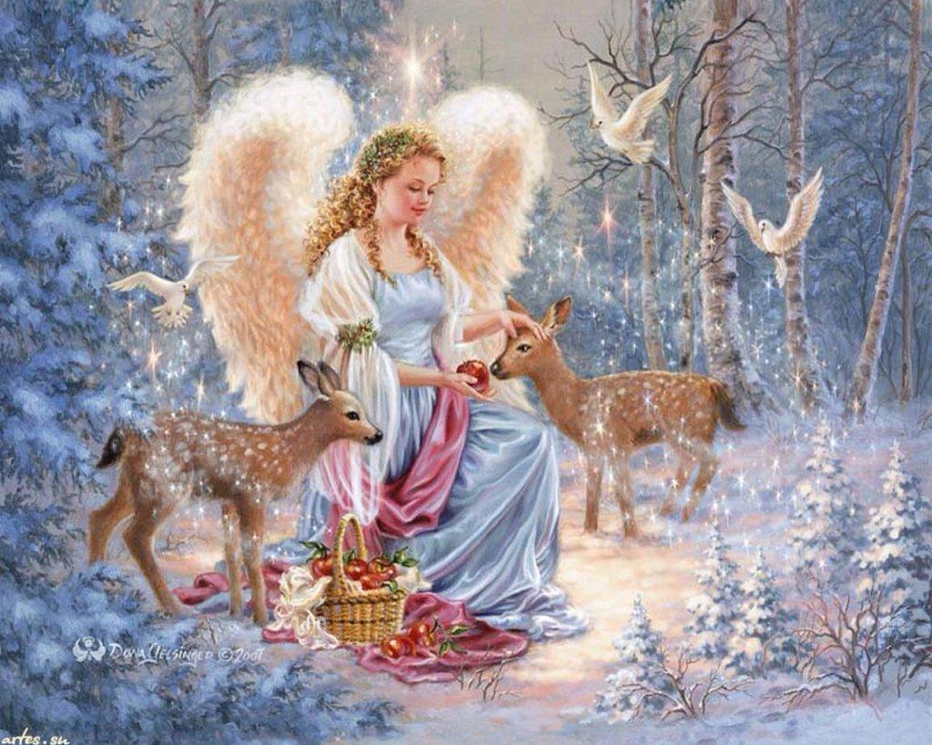 Рисунки, с рождеством картинки с ангелами