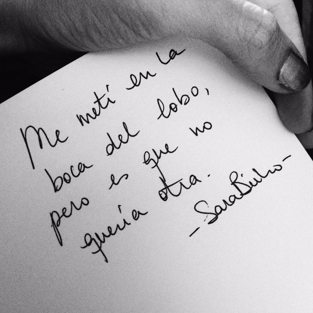 Sara Bueno Sarabuho Twitter