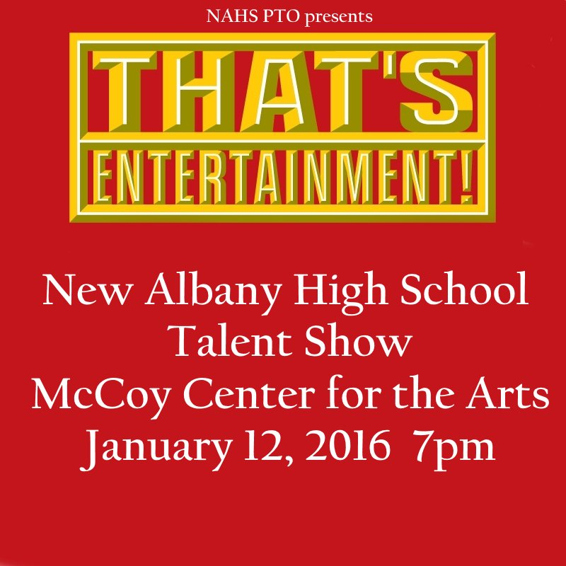 #NAHSCommUNITY Make plans to attend the @napls_hs Talent Show on 1/12! @NA4K2016 @NewAlbanyOhio @NASSConvocation https://t.co/1EuevmloHL