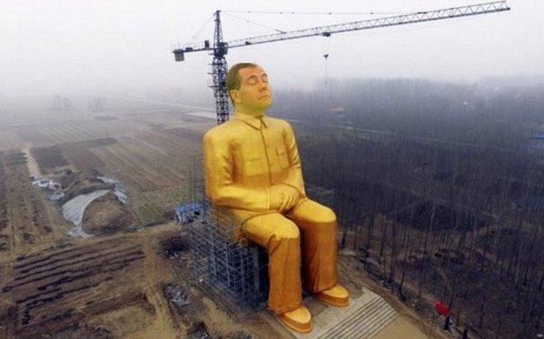 В Китае строят 36-метровую статую Мао Цзэдуна - Цензор.НЕТ 2510