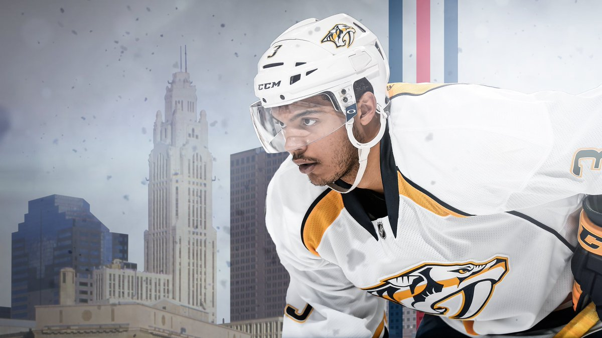 #CBJ acquires Seth Jones from the @PredsNHL in exchange for Ryan Johansen.  MORE: https://t.co/qhKzRydaFp https://t.co/kX635Km9VT