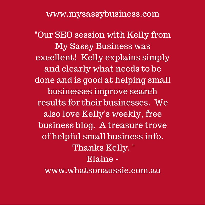 Love this testimonial from Elaine at http://buff.ly/1NzYqPb  #whatsonaussie #whatsonnorthernbeaches #clientfeedbackpic.twitter.com/Rvvnvw1I4k