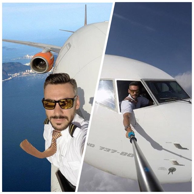 kiis 1065 on twitter pics of pilot who selfie 39 d from outside the freakin plane real or bs. Black Bedroom Furniture Sets. Home Design Ideas