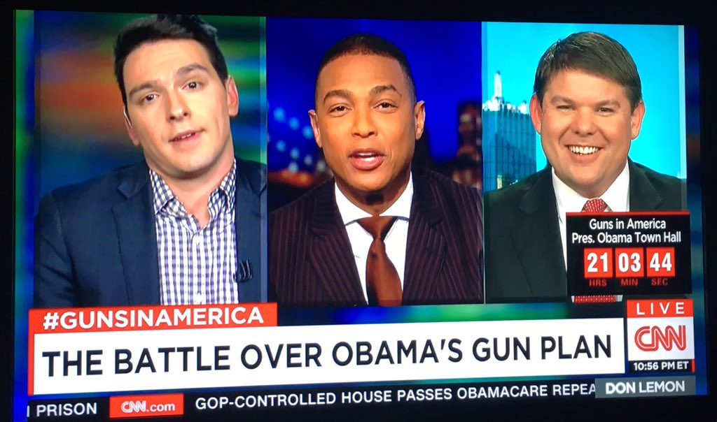 Wow! That was an extremely heated debate btwn @benfergusonshow & @igorvolsky on @CNNTonight w/@donlemon! #mustseeTV https://t.co/bbHsES5Be3