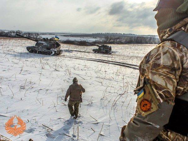 За минувшие сутки один украинский военный получил ранение. Погибших нет, - спикер АТО - Цензор.НЕТ 7192