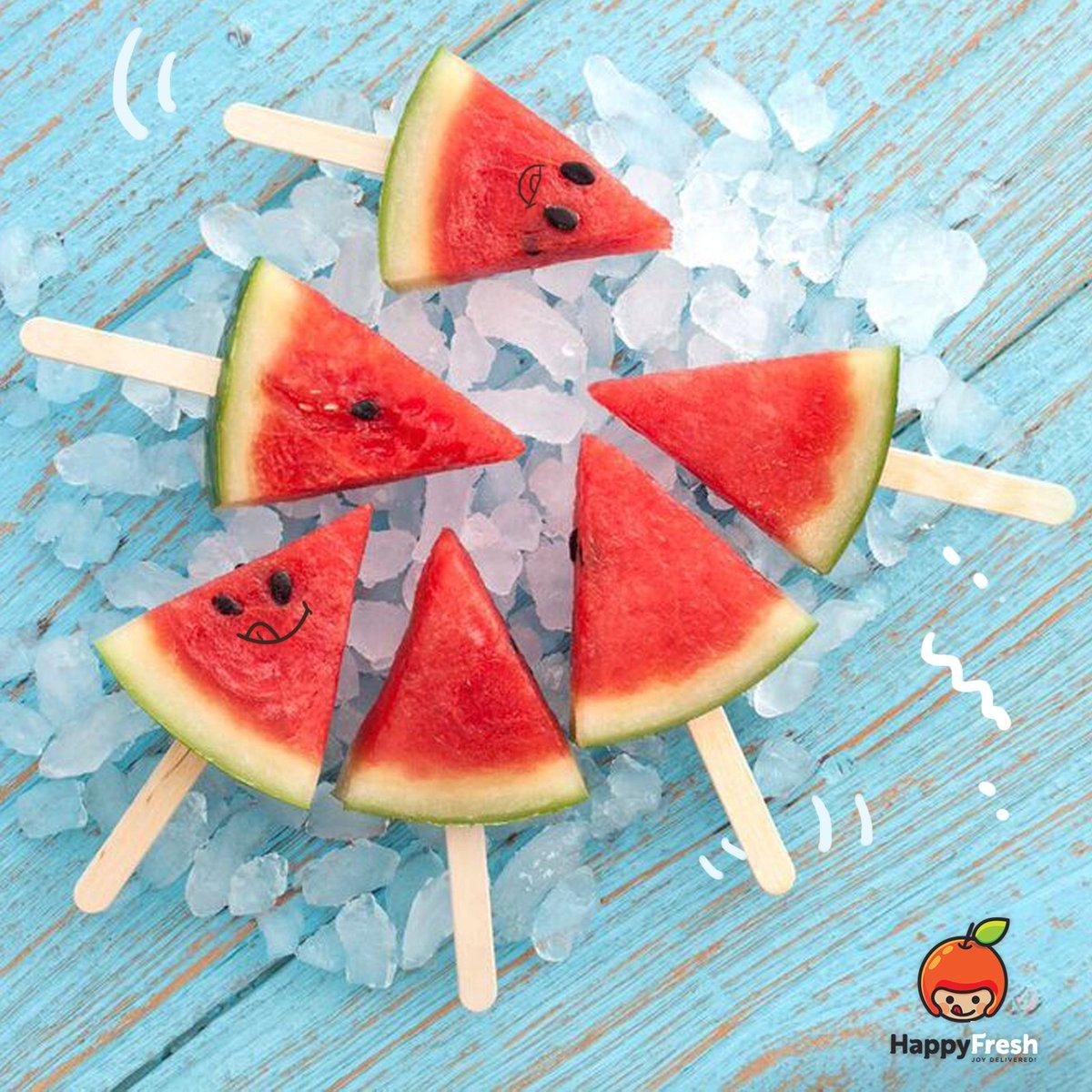 หวานชื่นใจแถมมีแคลอรี่ต่ำ กินแตงโมกัน!  https://t.co/LhiVookvlu #GroceriesShopping #HappyFresh #Cleanfood #Healthy https://t.co/32BzDpIIW8