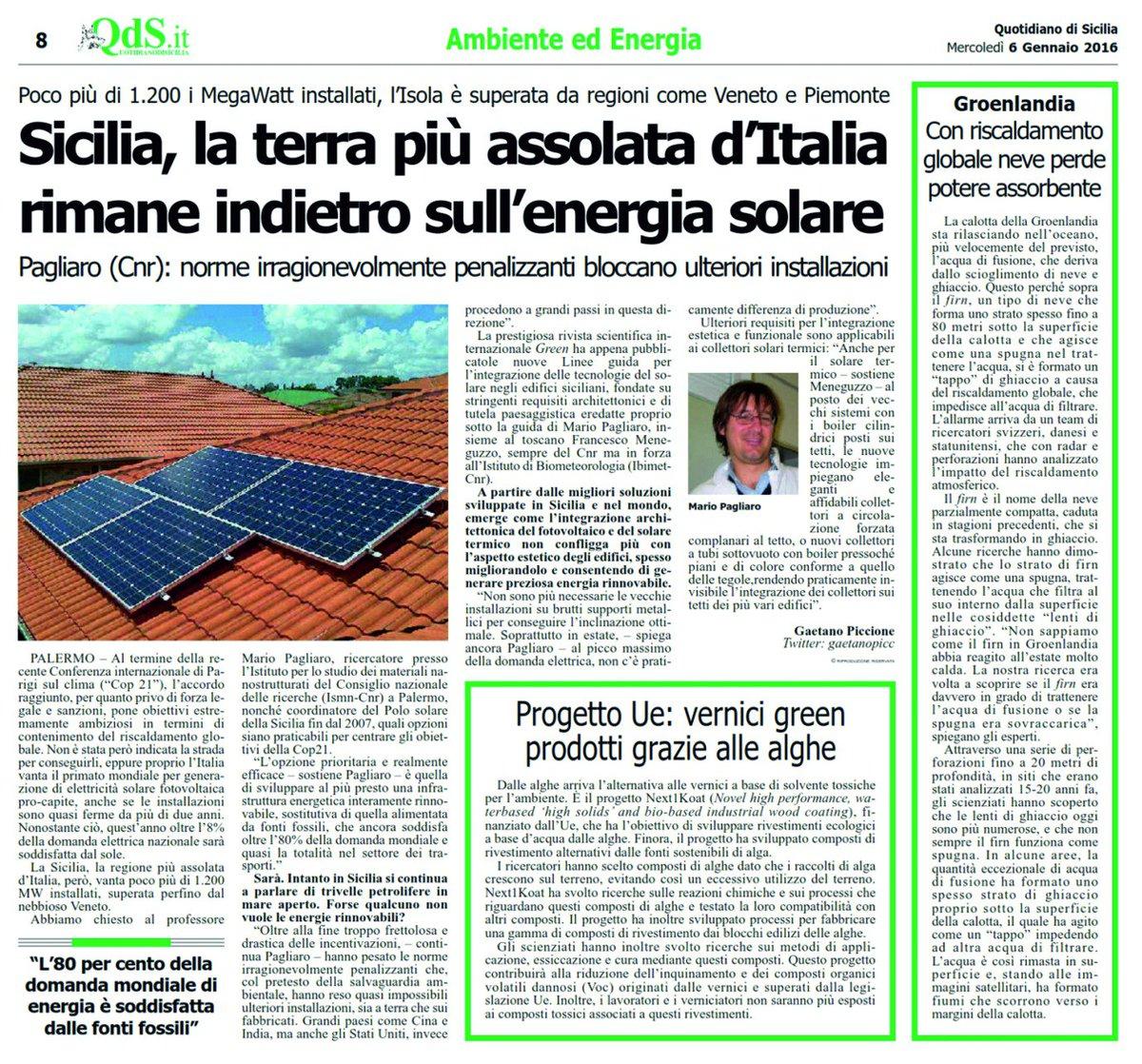 Energia Solare In Sicilia salvop (@salvopoi) | twitter