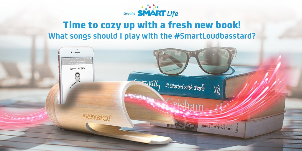 Wanna WIN a #SmartLoudbasstard? Tweet us some calm tunes we can play while curling up with a book. Keep on tweeting!