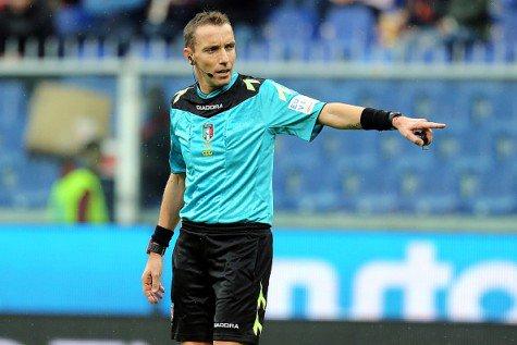 Sampdoria-Juventus all'arbitro Mazzoleni, Roma-Milan a Orsato