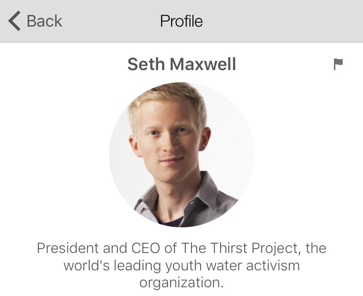 We welcome @thirstproject CEO @Sethmaxwell1 to STAND & a @soulcycle ride to provide 25 families with water for life! https://t.co/Tm7v7ryxXG