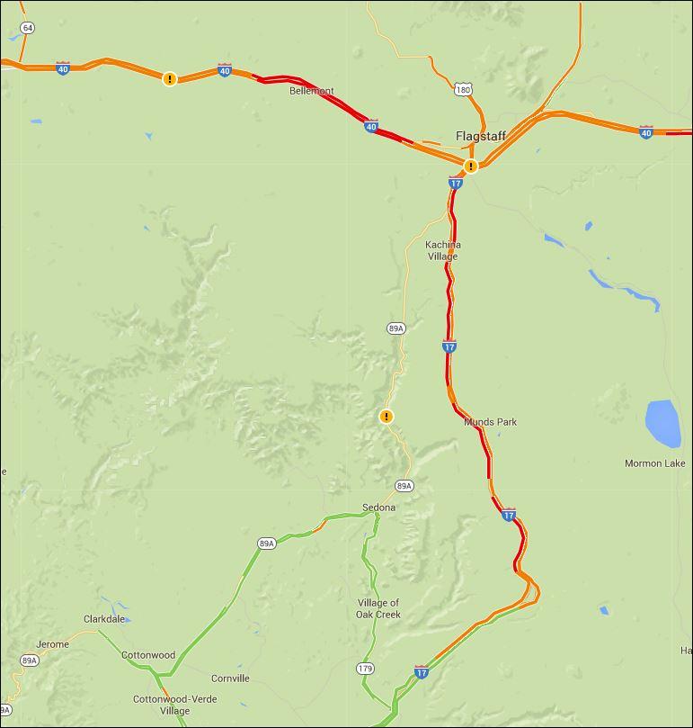Map Of Arizona Driving.Arizona Dot On Twitter Radpragaz Check Out Google Maps And Select