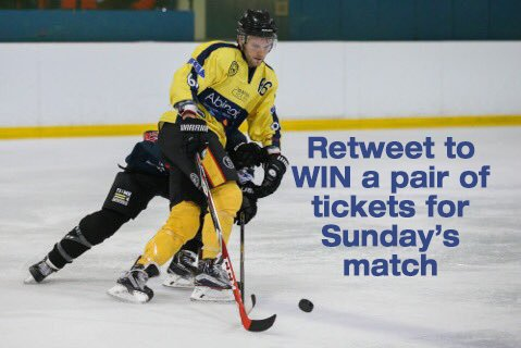COMP: Retweet to #win a pair of tixs to this Sunday's game @oxfordcitystars v.s. @LonRaiders_IHC at @oxfordicerink https://t.co/I4vokFLtYF