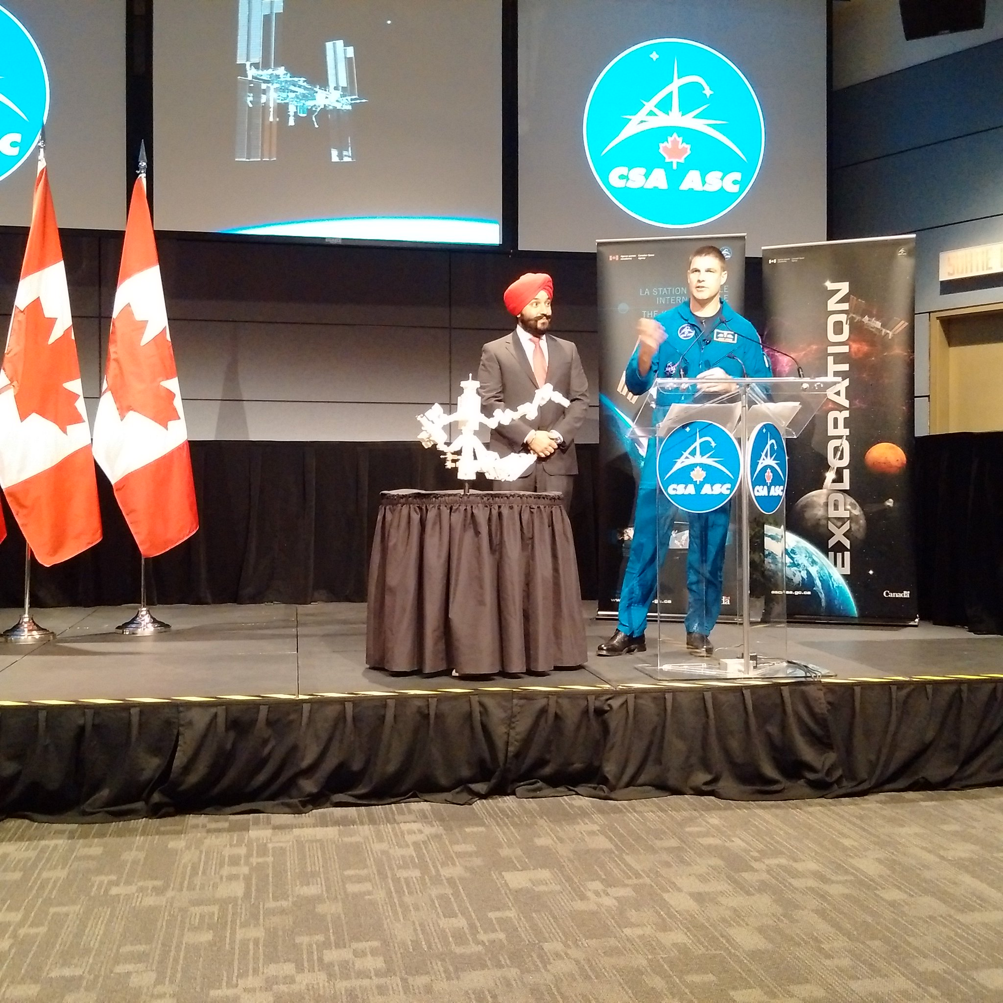 """Navdeep Bains on Twitter: """"Pleased to announce that Canada ..."""