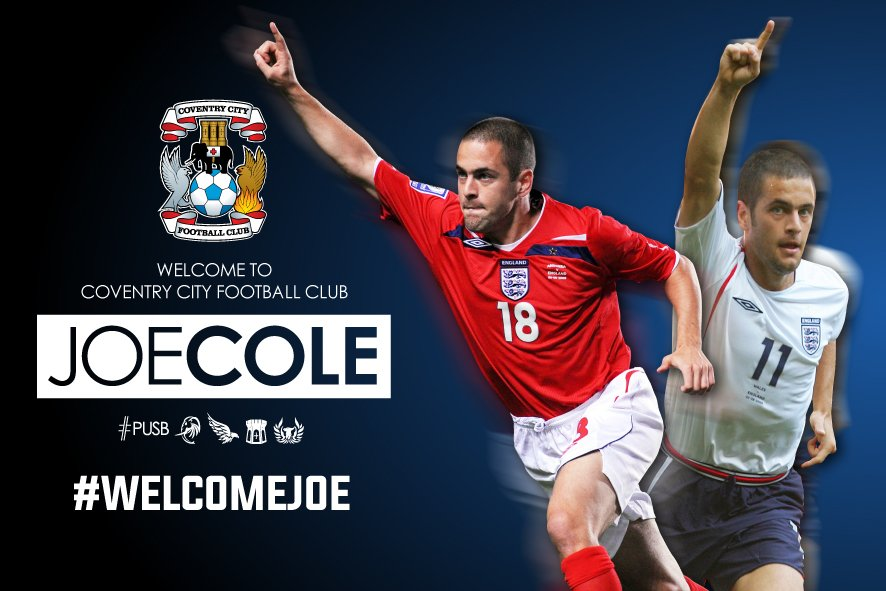 SIGNING: We've signed Joe Cole. We're not even bothered, totally normal now...