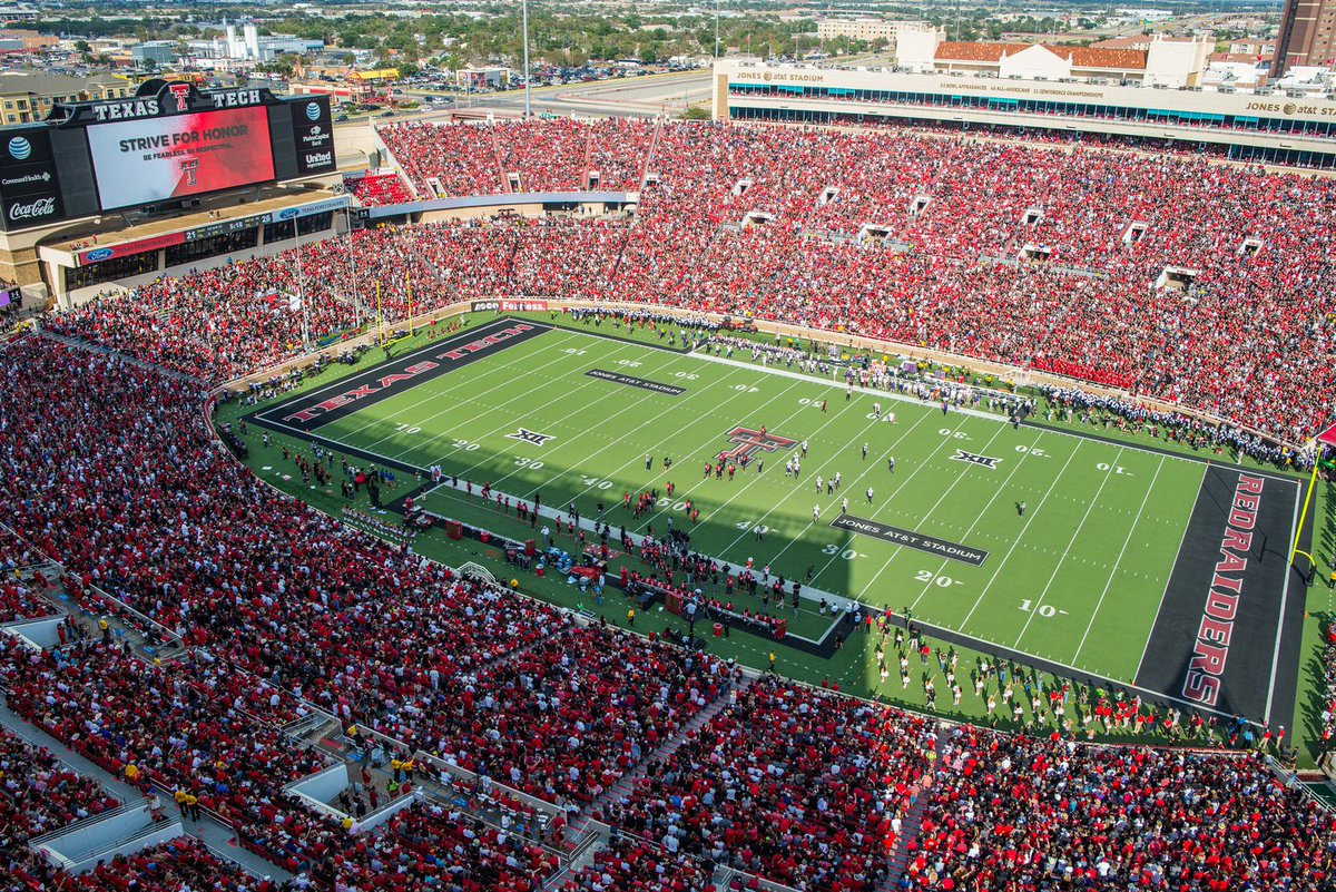 Texas Tech Red Raiders On Twitter Jones At T Stadium Is 8th On Https T Co Repiajki7p S Stadium Experience Rankings Https T Co Ktookh6eov Gunsup Https T Co Buvndjbqd6