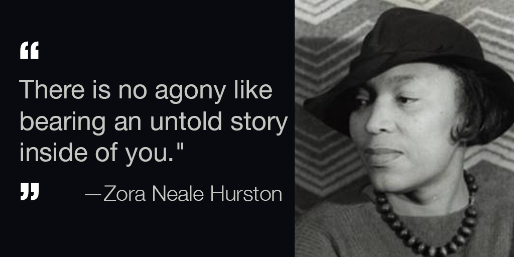La Public Library On Twitter Zora Neale Hurston Was The Most