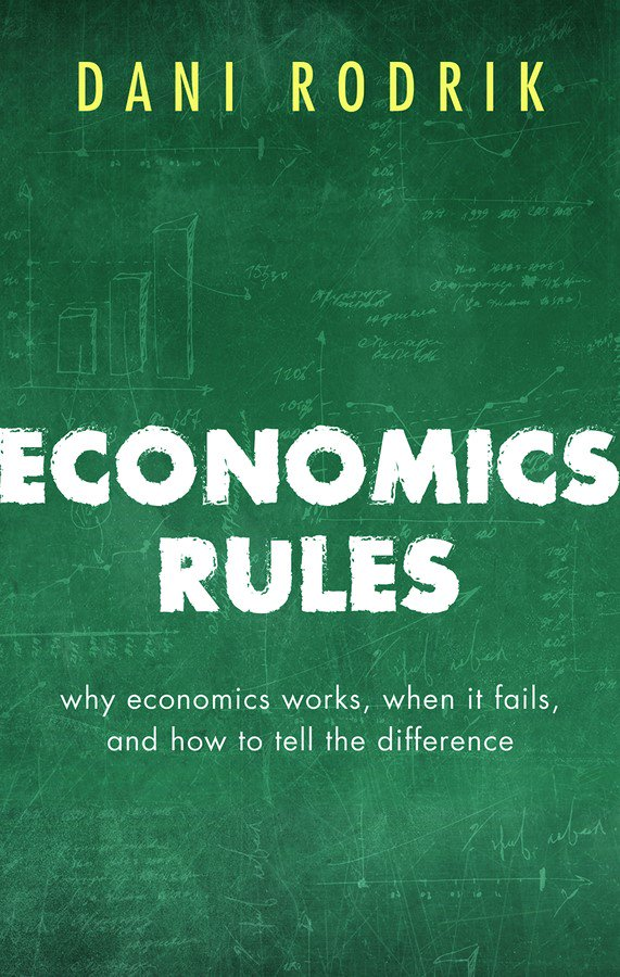 Download @rodrikdani's talk on Economics Rules: The Rights & Wrongs of the Dismal Science https://t.co/YvvvYyYrBQ https://t.co/ie6cAiAw2E