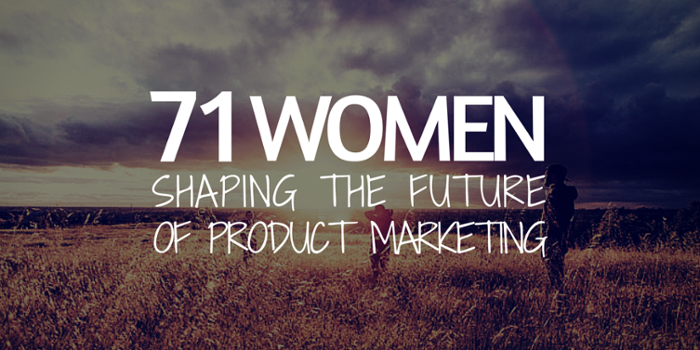 They're powerful, inspiring & kicking a$$ - 71 Women in Product Marketing: https://t.co/AiHWv5IPFD #PMM #WomeninTech https://t.co/TAeLA0OwJw