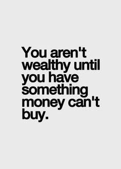 What is the wealthiest thing that you have? https://t.co/VOcBvB9Fks