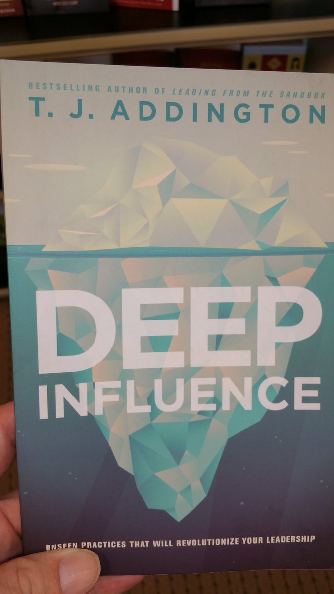 Are you the @TJ_Addington who wrote this book? Looks intriguing! #leadership #deepinfluence #kingdominfluence #book<br>http://pic.twitter.com/wjYpXGDFW9