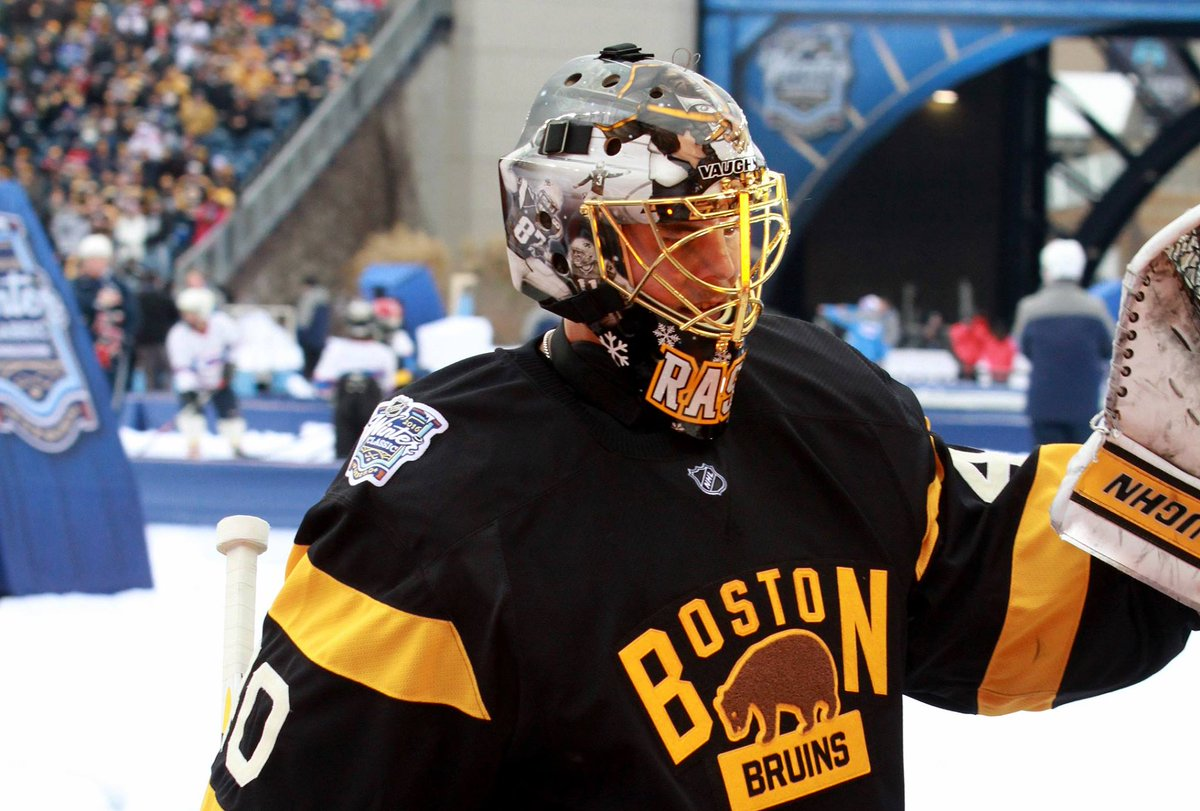 Tuukka Rask s Patriots-themed Winter Classic Mask is now on display at The  Hall! http   bit.ly 1VNJxdX pic.twitter.com bw5XHHJzgR 092772040