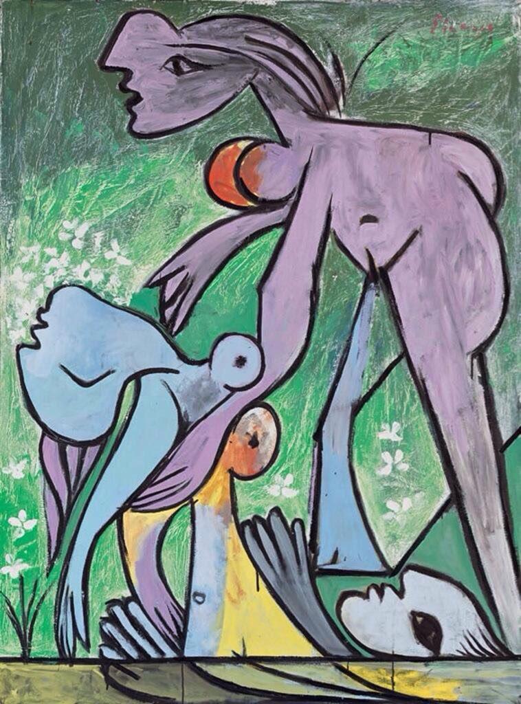 """@Art_Depot: Pablo Picasso, The Rescue, 1932. https://t.co/KQzL2bpKRu"""