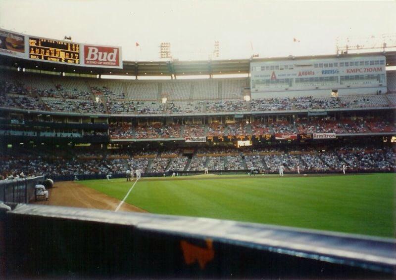 Mlbcathedrals On Twitter Angel Stadium Aka Anaheim Stadium With