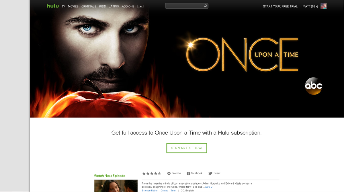 @UponASpoiler Hulu changed their OUAT banner to the new 5B poster. https://t.co/SwIWL7RnOh