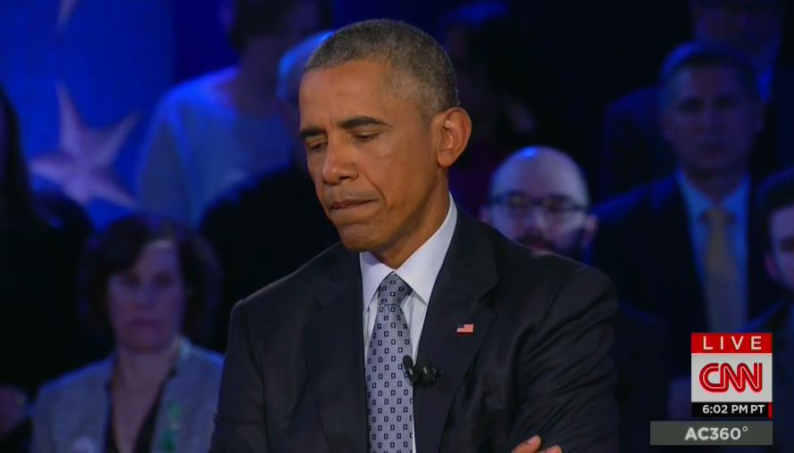 Obama ate a dog and a moose