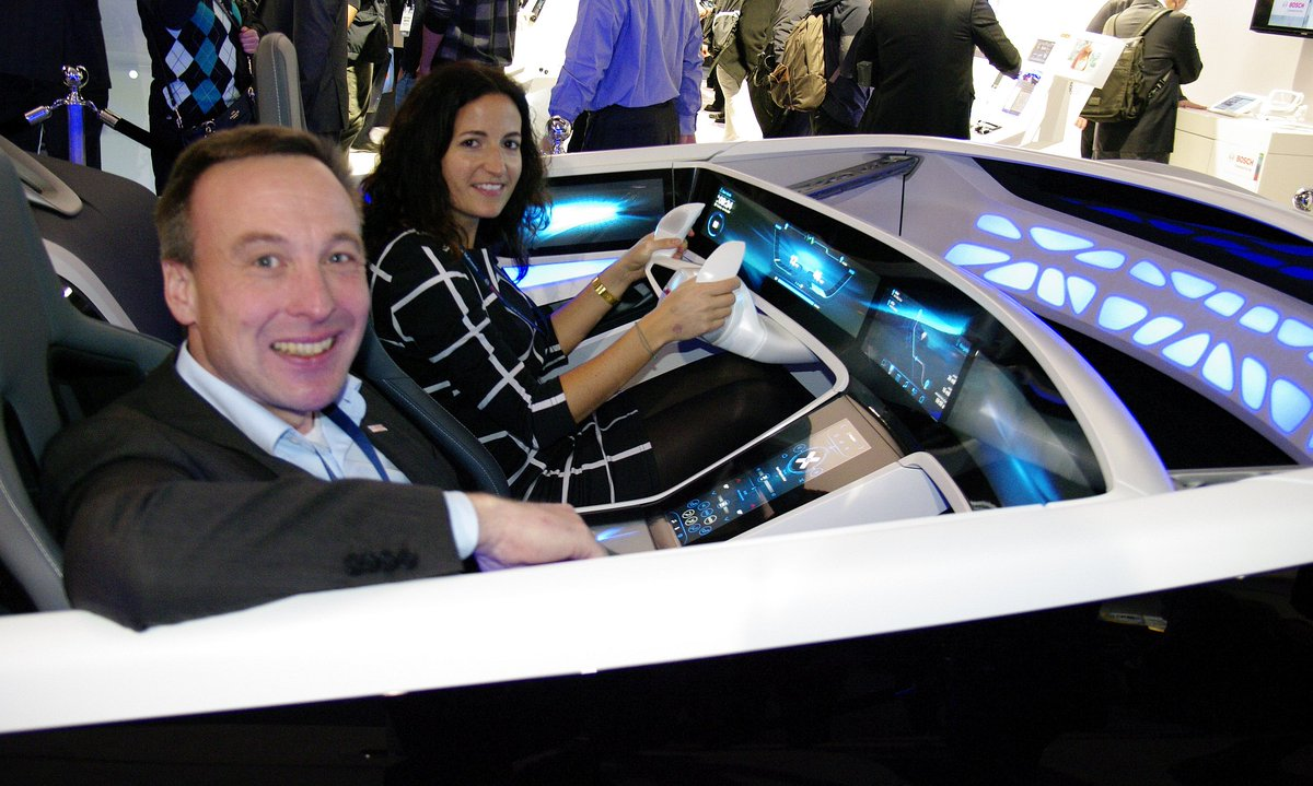 #CES2016 is over: time to drive our #ConnectedMobility showcar back to the garage. Thanks for following #BoschCES!