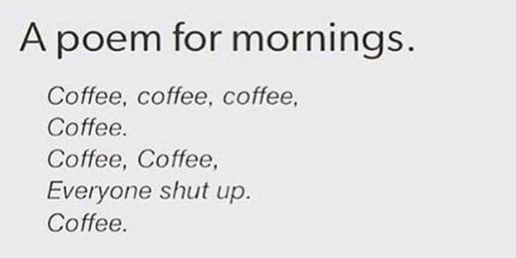 A poem for the morning .... https://t.co/ccxMELt1g6
