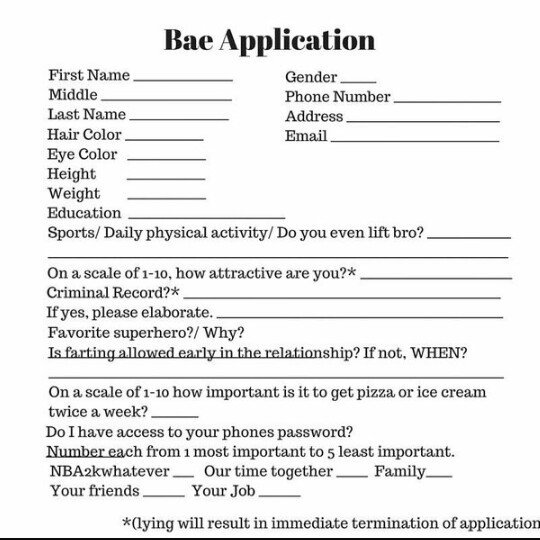 Bae Application