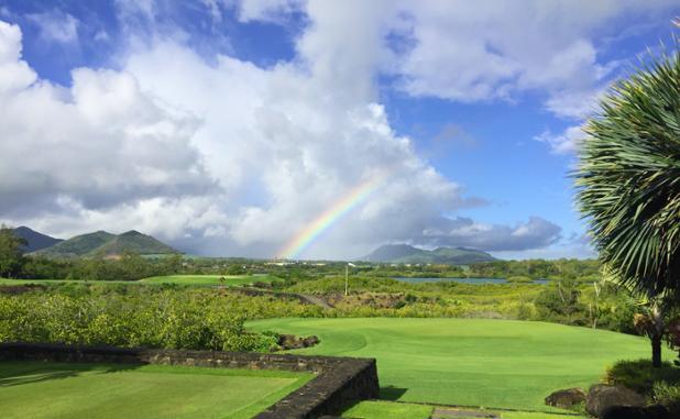 Mauritius Costa est: Ile aux Cerfs Golf Club - Isola dei Cervi