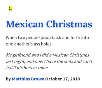 urban dictionary on twitter tlpimp mexican christmas when two people poop back and forth into httpstcowttnm6ckd8 httpstcoo2zbllrtjh - Mexican Christmas Urban Dictionary