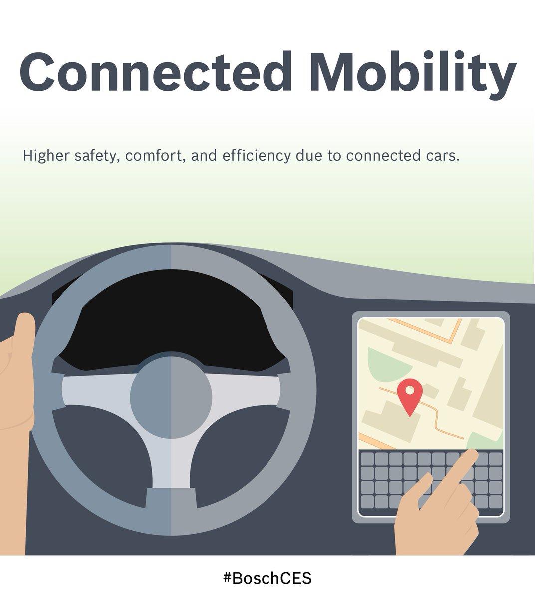 More on #automateddriving, parking & #connectedmobility at booth #2302 #CES2016 #BoschCES https://t.co/fpHErX07JZ