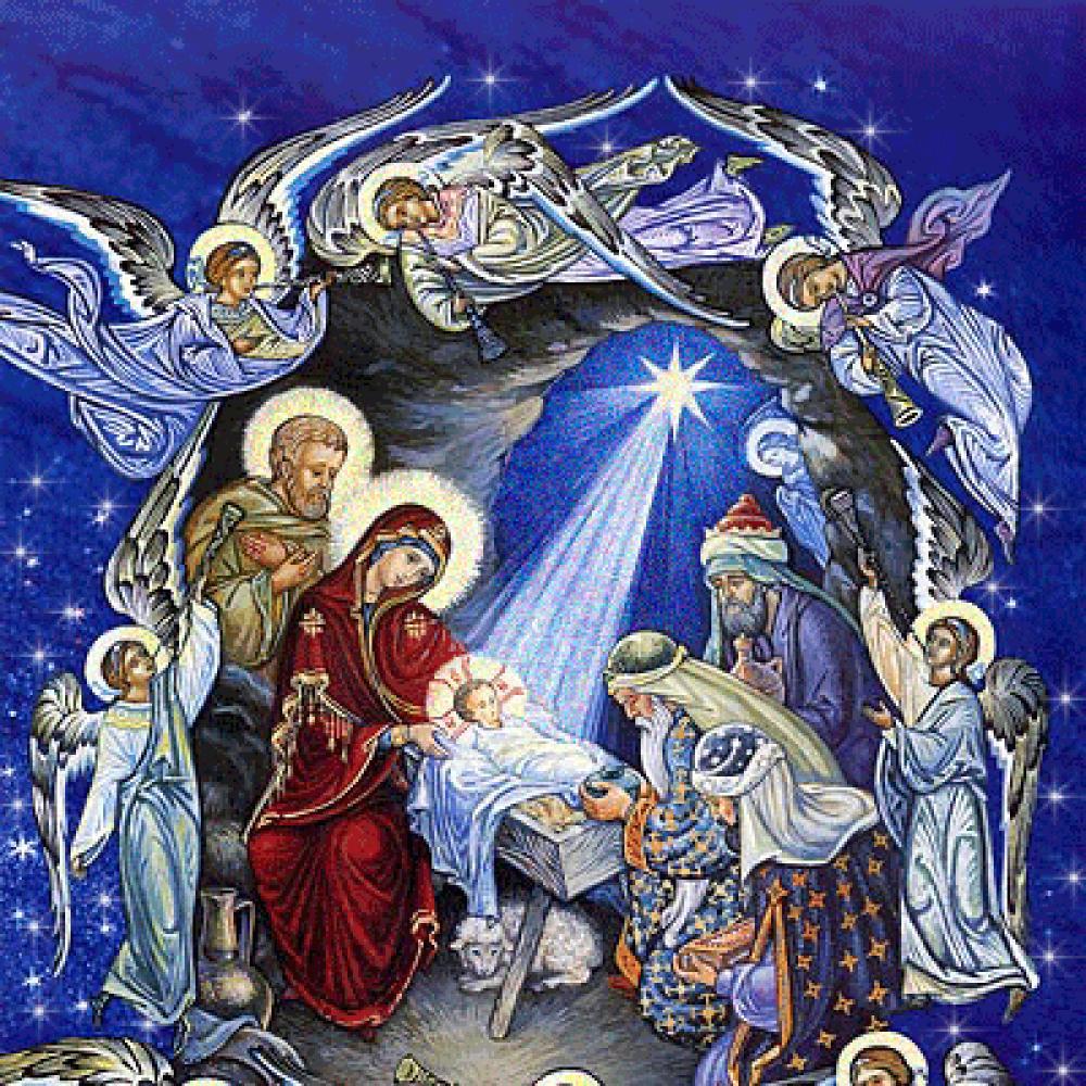 Рождество в картинках христианское, картинки