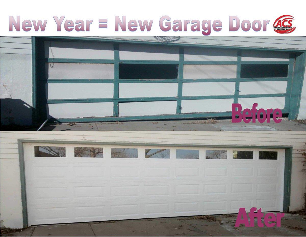 Acs Cedar Rapids On Twitter Get A New Garage Door Installed