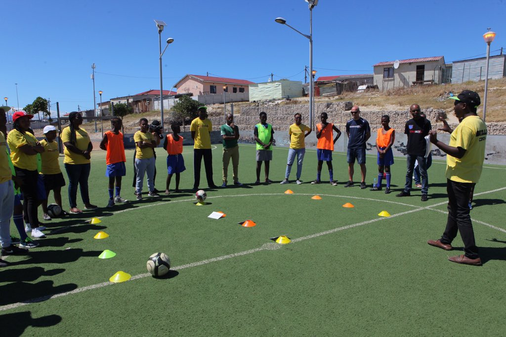What an inspiring day with @GrassrootSoccer in South Africa, seeing the real impact in the lives of youth. Thank u