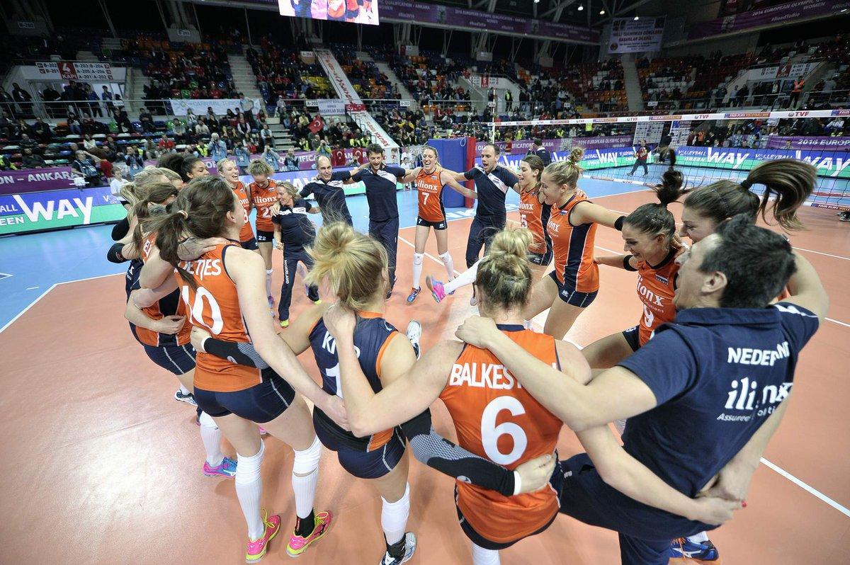 RT @volleybalnl: Volleybalvrouwen naar finale OKT na zege op Italië! https://t.co/D3ryCBYmh0 #letsgoorange #okt https://t.co/IK1xWbLGmD