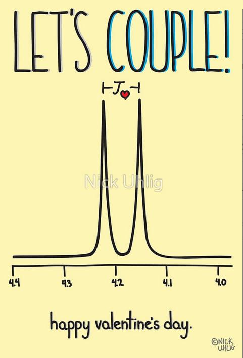 Chemjobber on Twitter Brilliant chemistrythemed Valentines Day – Chemistry Valentines Day Card