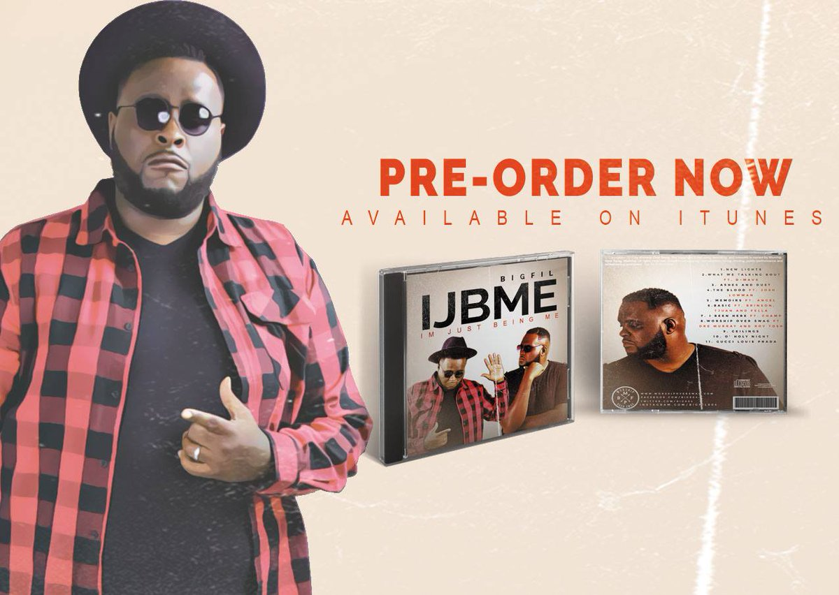 #IJBME is officially available for pre-order on iTunes! Make sure you download now: https://t.co/jTv9DmED5c https://t.co/NIRaPPBPZi