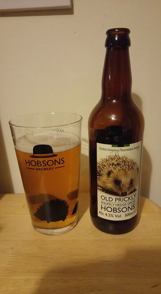 Hedgehog beer
