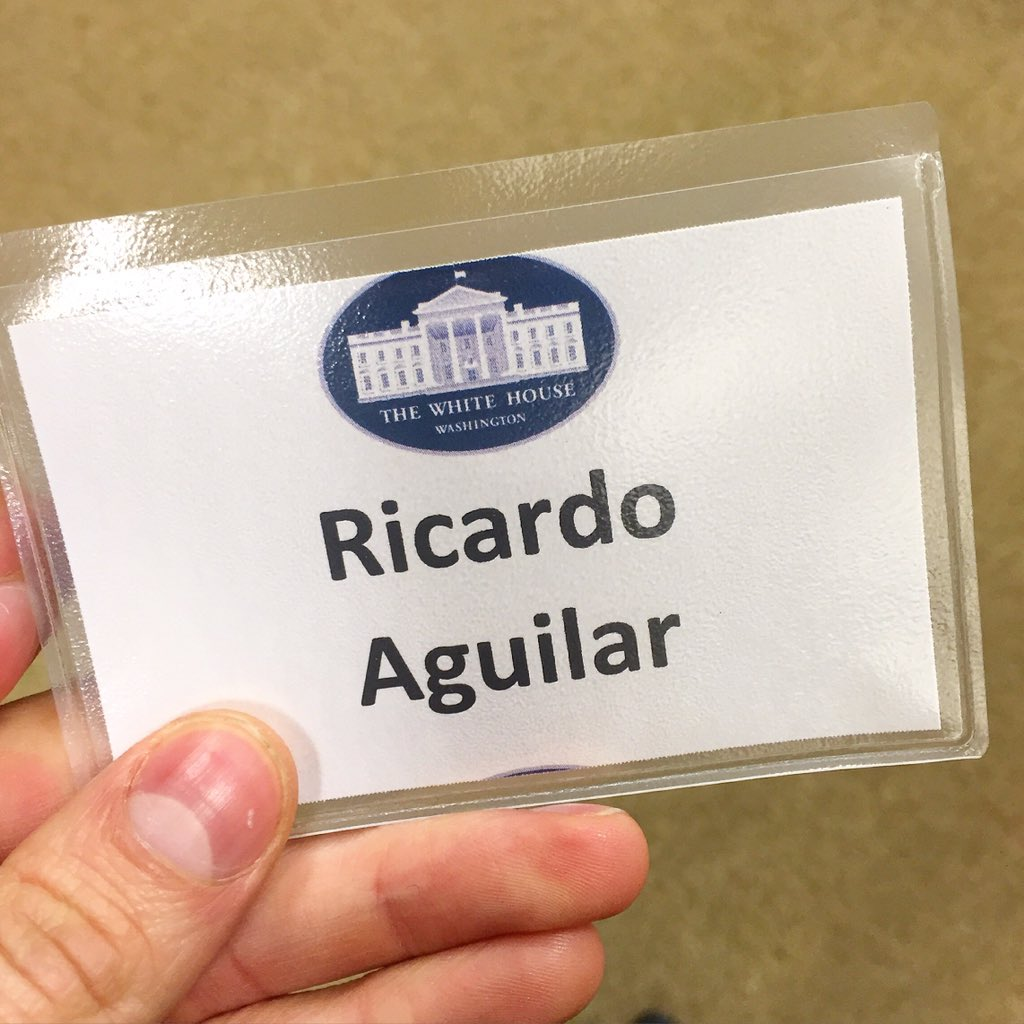 rj aguiar on twitter my first big meeting at the white house and
