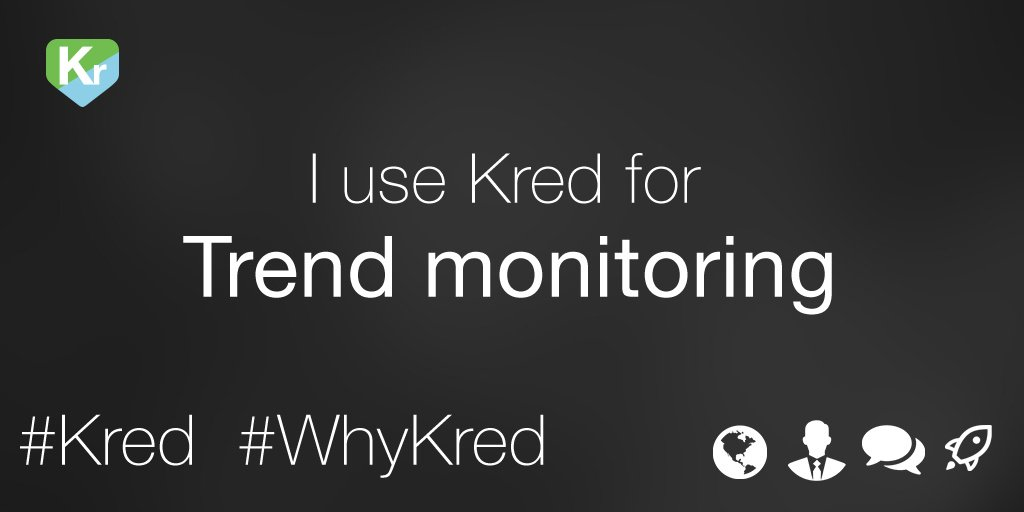 Our influencers tell us they use Kred for Trend Monitoring. Join them and never miss a beat: https://t.co/YJnNuR53qH https://t.co/qtbV79j6Ww