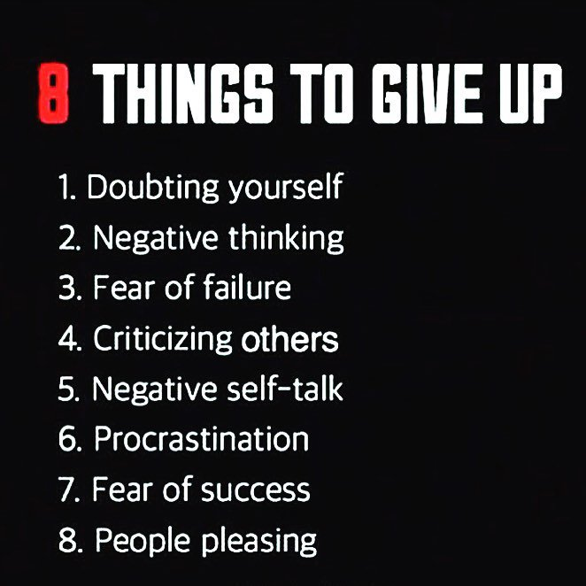 8 things to give up in 2016! https://t.co/0gON6Avjnp