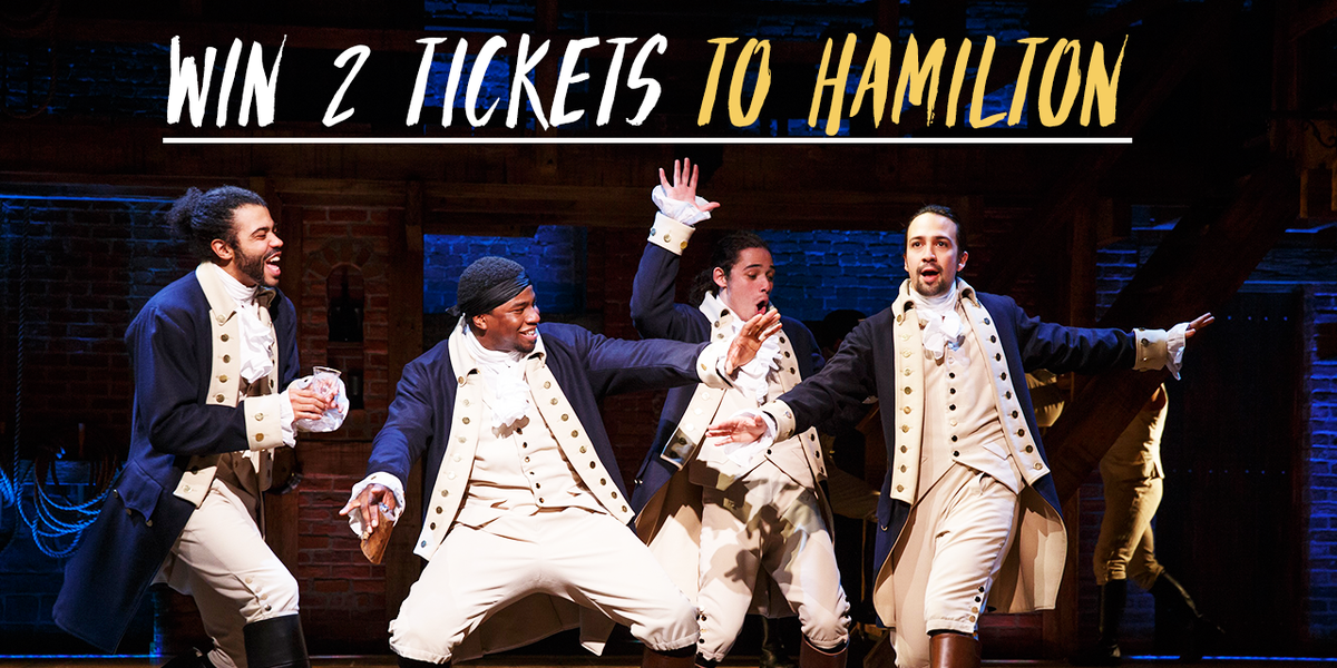 Win 2 tickets to @HamiltonMusical on 1/13! RT & follow us for your chance to win. T&Cs → https://t.co/B1o3frHrSx https://t.co/URcocFPbTm