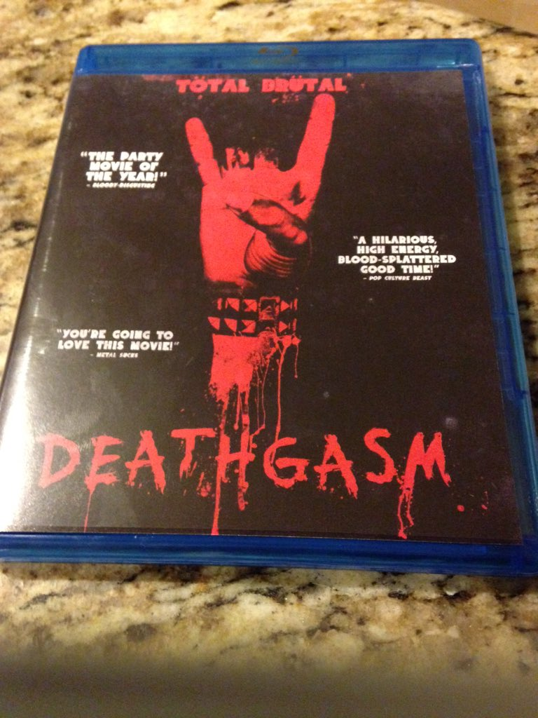The alternate cover and Bluray for Deathgasm are awesome. Well done @darkskyfilms https://t.co/1mwh6MJtQo